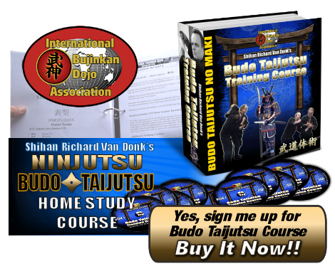 Budo Taijutsu Training Course